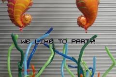 Seahorse Balloons