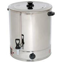 large hot water urn hire