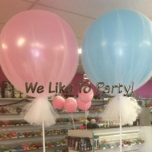 Tulle 90cm Latex Balloon
