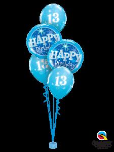 13-Birthday-Blue-Sparkle-Bouquet
