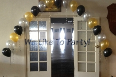 Atwell College Helium Arch