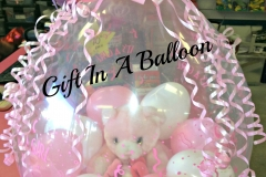 Gift In A Balloon~Baby Girl