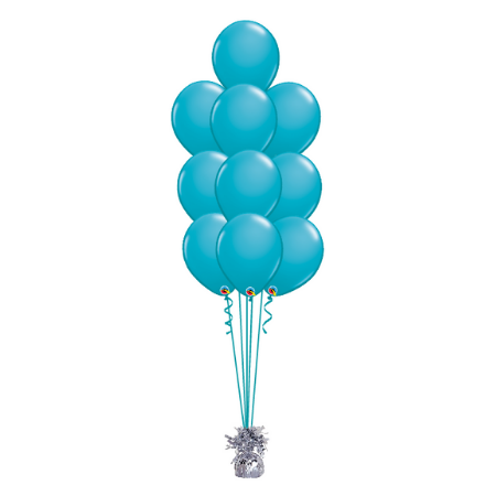 We Like To Party Floor Balloon Bouquet of 10