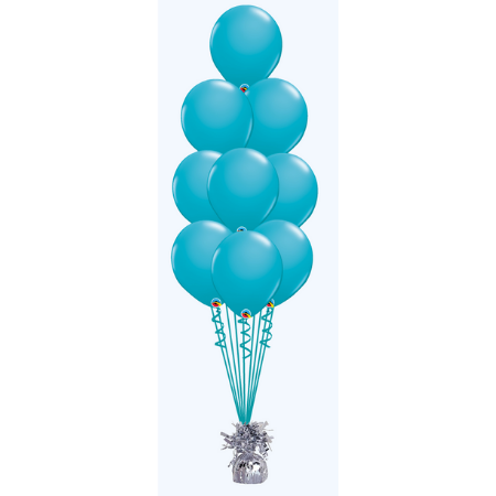 We Like To Party Floor Balloon Bouquet of 9