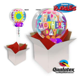 We Like To Party Bubble Balloon In A Box - Mother's Day Flowers