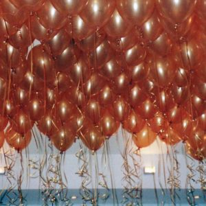 We Like To Party Fifty Ceiling Helium Balloons With Hifloat
