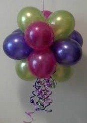 We Like To Party Balloon Hanging Topiary Small