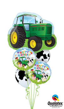 We Like To Party Barnyard Party Balloon Bouquet
