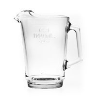 We Like To Party 1140ml Plastic Beer Jug Hire