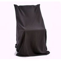 We Like To Party Chair Black Cover Unfitted And Sash Hire