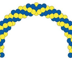 Garland Air Filled Arch