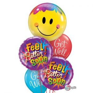 We Like To Party Get Well Grande Balloon Bouquet