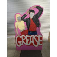 We Like To Party Grease Sandy And Danny Photo Prop Hire
