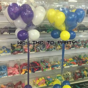 We Like To Party Deco Gumball Bubble Balloon Bouquet