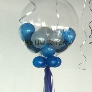 We Like To Party Deco Gumball Bubble Balloon Bouquet & Tassels