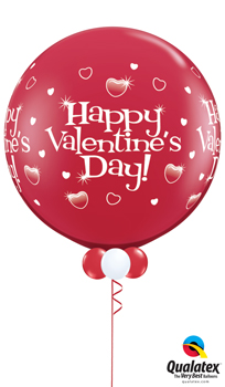 We Like To Party Jumbo Valentine Balloon Bouquet