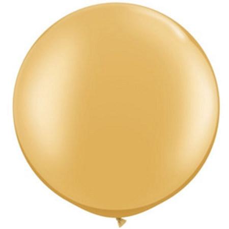 We Like To Party Giant Metallic Gold Balloon