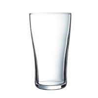We Like To Party 285ml Middie Beer Glass Hire