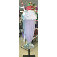 We Like To Party Milkshake Prop Hire