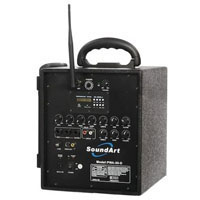 We Like To Party Mini PA System With Wireless Microphone Hire