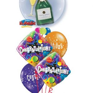 We Like To Party Party Champagne Congrats Balloon Bouquet