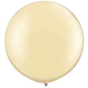 We Like To Party Giant Pearl Ivory Balloon