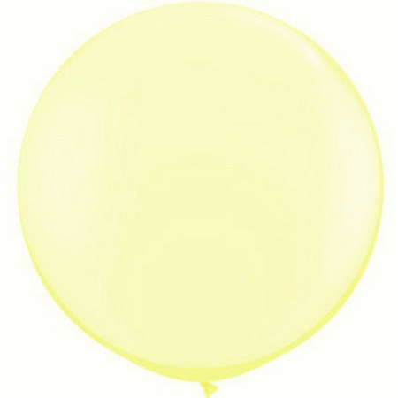 We Like To Party Giant Pearl Lemon Chiffon Balloon