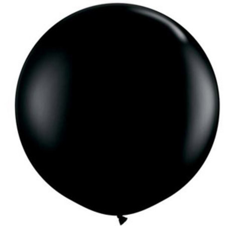 We Like To Party Giant Black Balloon