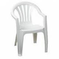 We Like To Party Chair Hire With_Arms White Plastic