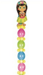 We Like To Party Quick Link Helium Balloon Column