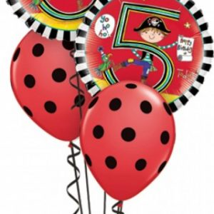 We Like To Party Rachel Ellen 5th Pirates Birthday Balloon Bouquet
