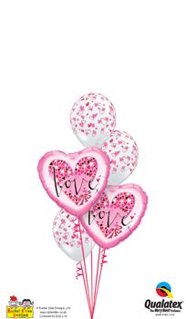 We Like To Party Rachel Ellen Love Balloon Bouquet