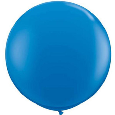 We Like To Party Giant Dark Blue Balloon