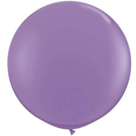 We Like To Party Giant Spring Lilac Balloon