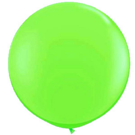 We Like To Party Giant Lime Balloon