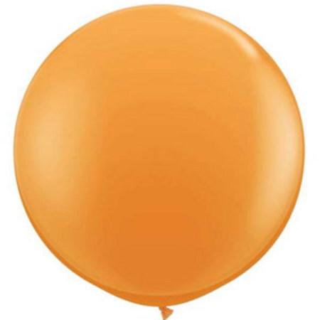 We Like To Party Giant Orange Balloon
