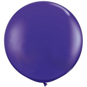 We Like To Party Giant Purple Violet Balloon
