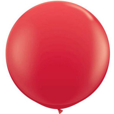 We Like To Party Giant Red Balloon
