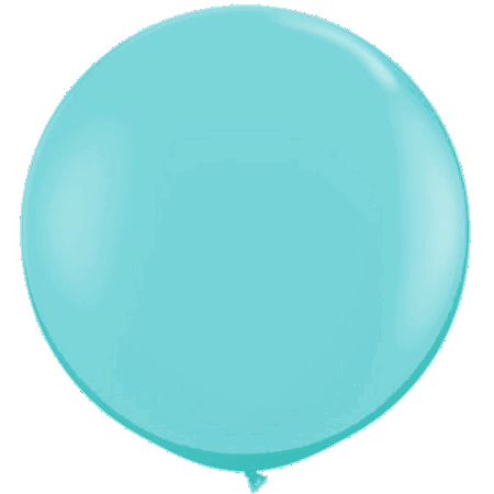 We Like To Party Giant Light Blue Balloon