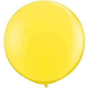 We Like To Party Giant Yellow Balloon