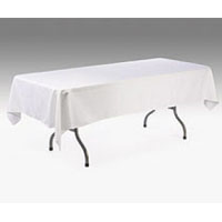We Like To Party 275cm x 137cmTrestle Table Linen Hire