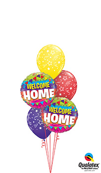 We Like To Party Welcome Home Balloon Bouquet