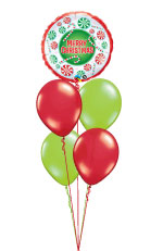 We Like To Party Xmas Table Balloon Bouquet