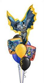 We Like To Party Batman Bunch Balloon Bouquet