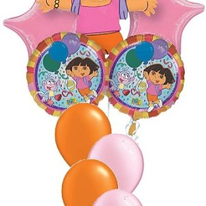 We Like To Party Dora The Explorer Balloon Bouquet