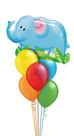 We Like To Party Elephant Bunch Balloon Bouquet