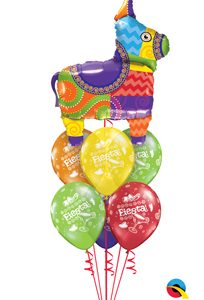 We Like To Party Fiesta Party Balloon Bouquet
