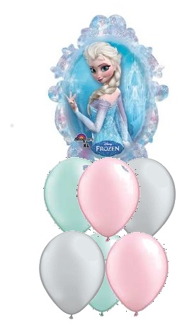 We Like To Party Disney Frozen Sisters Balloon Bouquet
