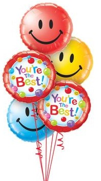 We Like To Party Lots & Lots Of Smiles Balloon Bouquet