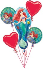 We Like To Party Mermaid Bunch Balloon Bouquet